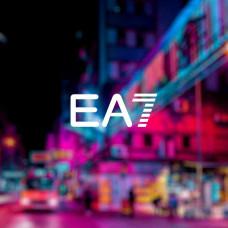 """Наклейка на авто """"EA7"""""""