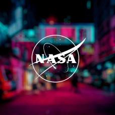 "Наклейка на авто ""NASA"""