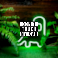 "Наклейка на авто ""Don't touch my car"""