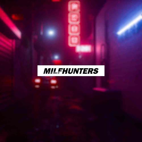 """Наклейка на авто """"Milfhunters"""""""