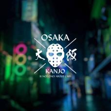 """Наклейка на авто """"Osaka Kanjo"""""""